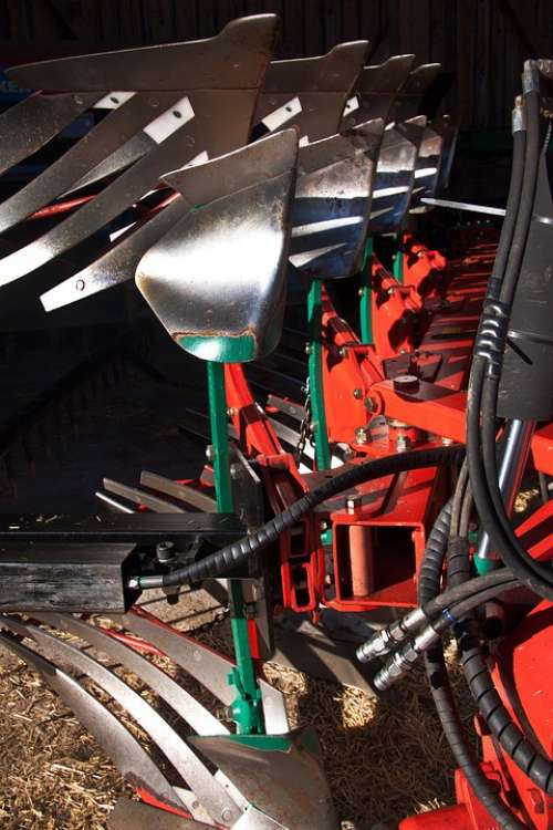 Plough Agriculture Machine Modern Device