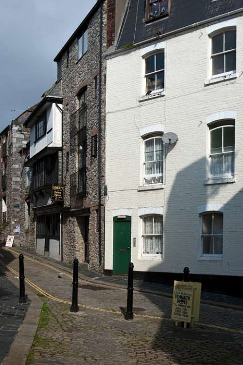 Plymouth Devon Architecture Old Buildings Eclectic