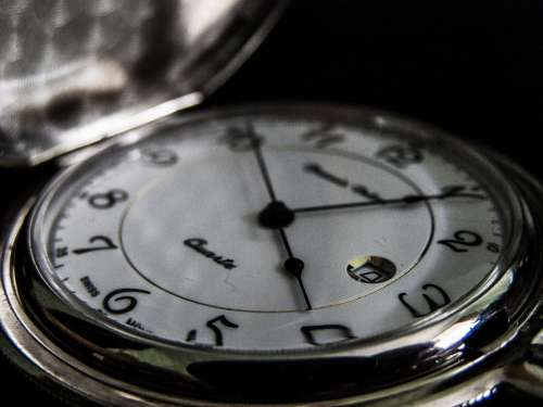 Pocket Watch Hour S Time