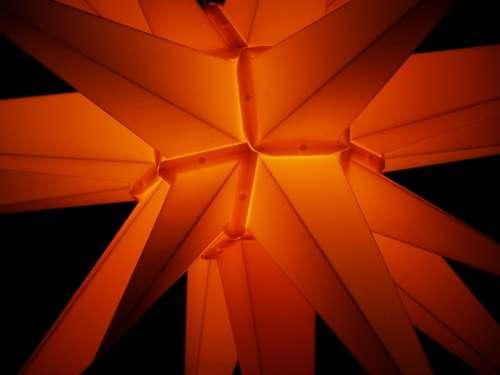Poinsettia Christmas Star Light Lighting Darkness