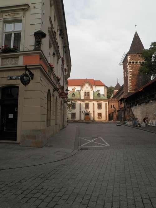 Poland Krakow Ul Florianska