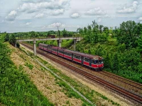 Poland Train Travel Transportation Railway