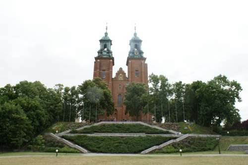 Poland Gniezno Church Cathedral Religion Old