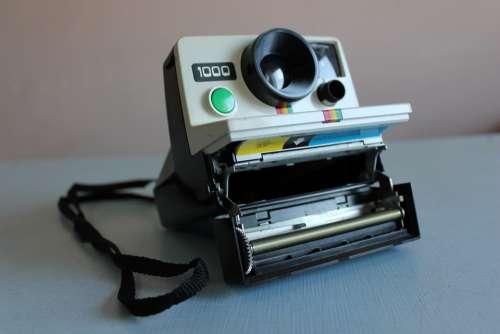Polaroid Camera Photo Photography Vintage Retro