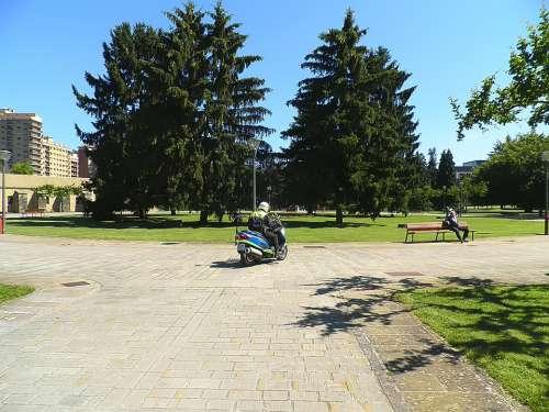 Police Park Pamplona Citadel