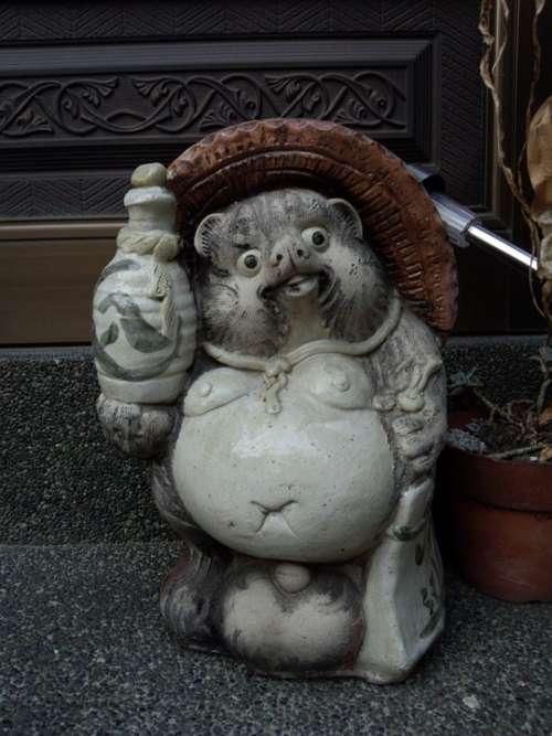 Pom Figurine Statue Interior Asia Japan