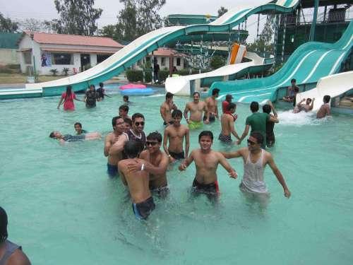Pool Swimming Pool Fun Water Game Childhood Play