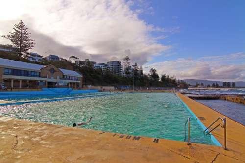 Pool Summer Beach Vacation Fun Travel Swimming