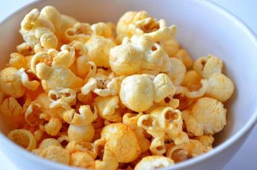Popcorn Fast Food Movie Cinema Food Corn Snack