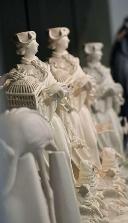 Porcelain Ceramic Figure Decoration Meissen