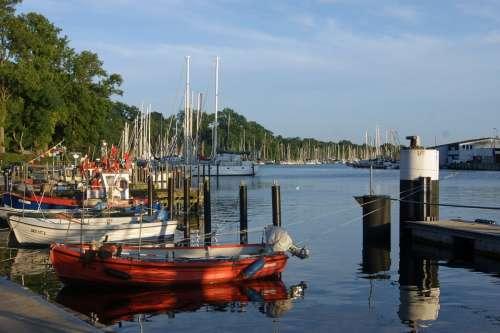Port Sea Boats Water Fisherman Berth Jetty