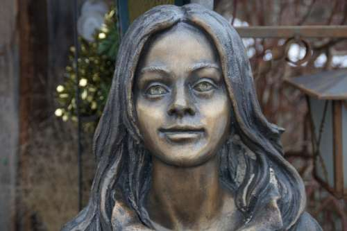 Portrait Sculpture Girl Person Young Woman Woman