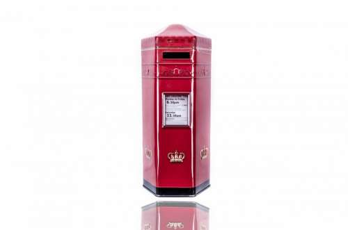 Post Box Postbox Red Mail British Letterbox