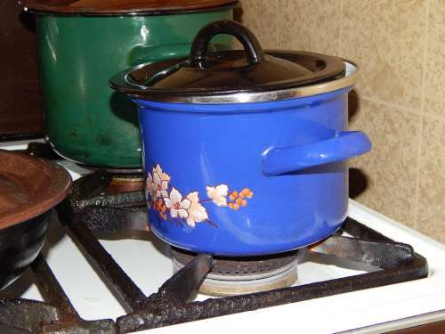 Pot The Dish Container Cooking