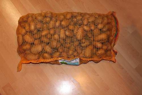 Potatoes Potato Sack Food Potato