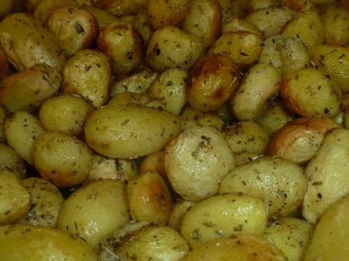 Potatoes Cooked Oven