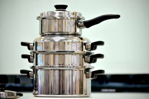 Pots Pans Cook Cooking Cookware Business Food