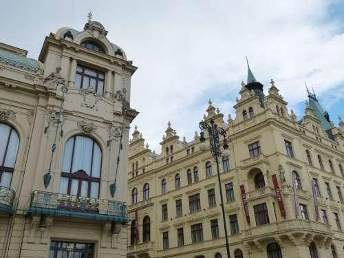 Prague Czech Republic Historic Center Historically