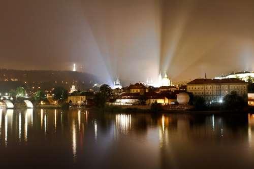 Prague Moldova City Historic Center Czech Republic