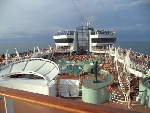 Preziosa Ship Mar Cruise Maritime Transport