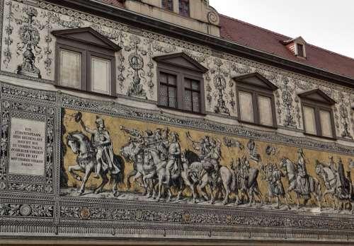 Princes Part Of The Art Work Dresden Landmark