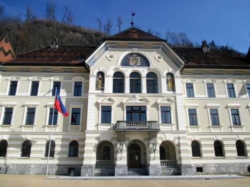Principality Of Liechtenstein Government Buildings