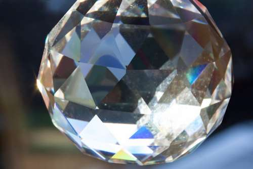 Prism Ball Geometric Body Decorative Decoration