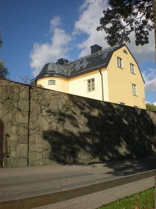 Prison Wall Långholmen Stockholm