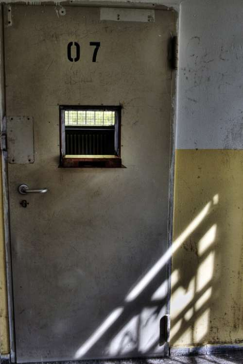 Prison Cell Prison Cell Prison Wing Iron Door