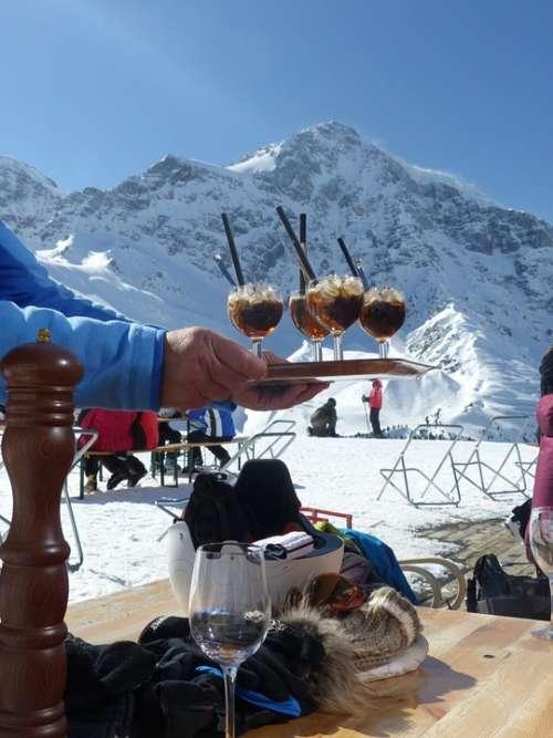 Pulpit Dreams Ortler Winter Solda Snow Drink