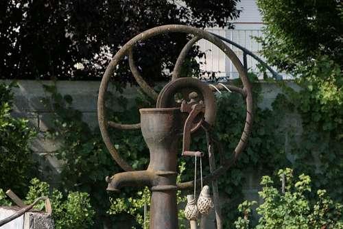 Pump Water Former Watering Garden