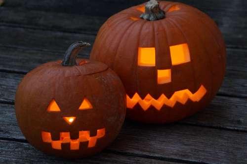 Pumpkin Halloween Pumpkin Face Face Fash