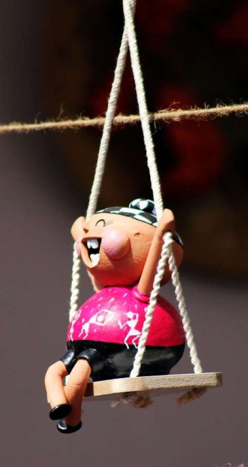 Puppets Swing Toy Happy Play
