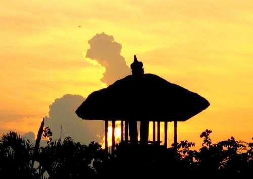 Pura Hindu Temple Faith Spiritual Religion