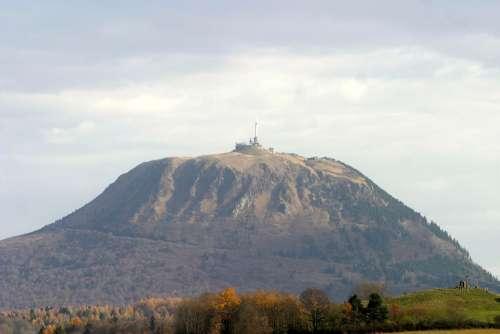 Puy De Dôme Mountain Volcano Volcano Mountain
