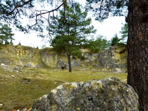 Quarry Old Stones Nature