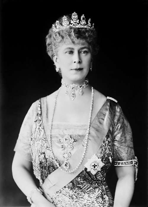 Queen Maria England Princess Crown Noble