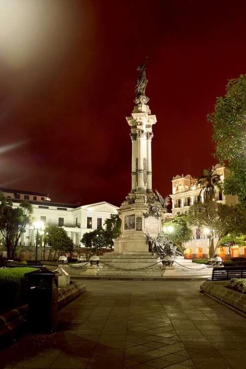 Quito Ecuador Historic Centre Independence Square