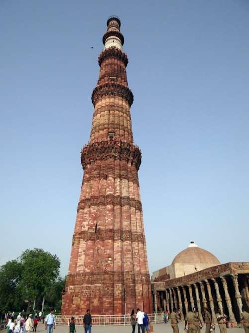 Qutb Minar Qutub Minar Qutab Islamic Monument