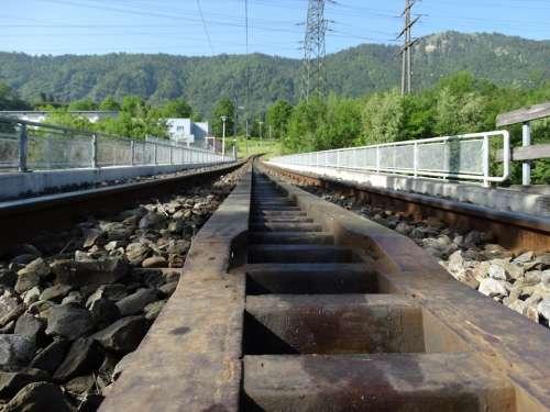 Rack Rail Rail Mountain Railway Rack Railway Train