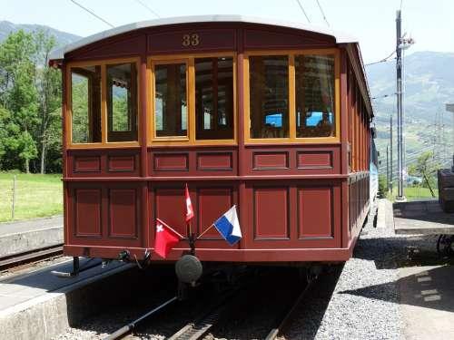 Rack Railway Dare Train Car Means Of Transport Rail