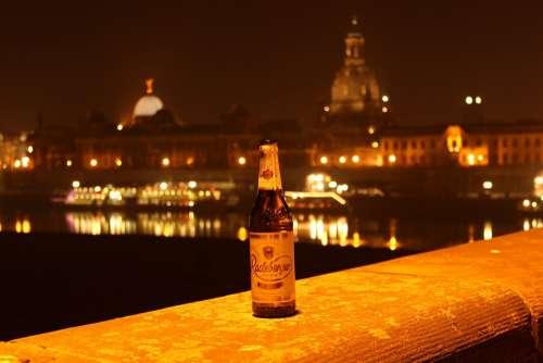 Radeberger Beer Dresden At Night Radeberger Night