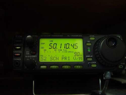 Radio Transciever Uhf Vhf Hf 706Mk8G Ic Icom