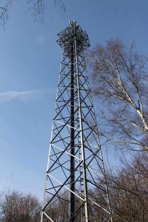 Radio Tower Handy Funkturm Send System Radio