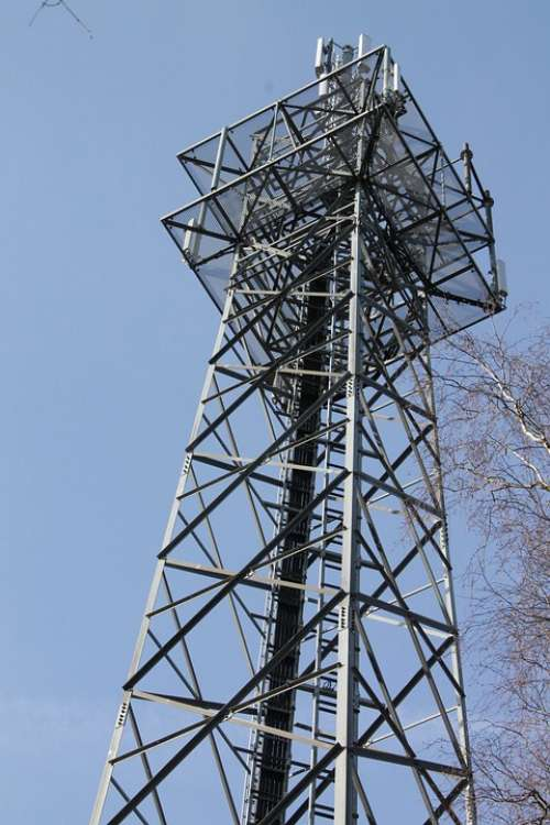 Radio Tower Handy Funkturm Send System Radio