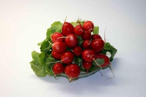 Radishes Vegetables Radish Salad Eat Food Edible