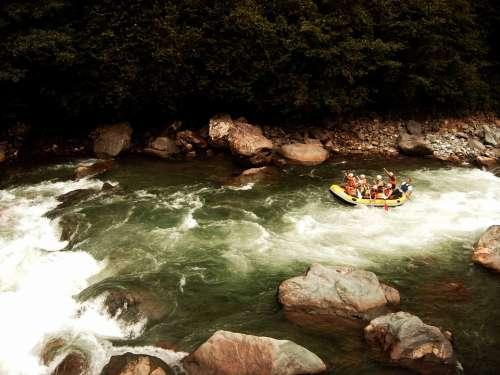 Rafting Rapids Stream River Boat Turkey