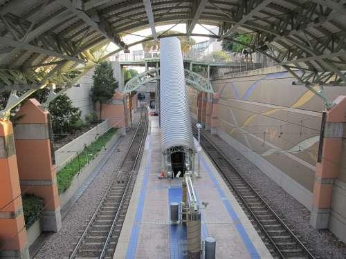 Rail Station Dallas Metro Metro Rail Metrolink
