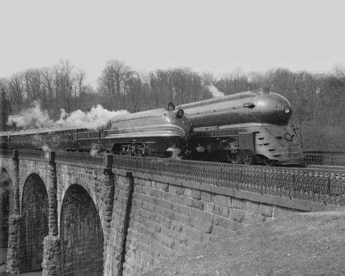 Railroad Trains Vintage Transportation Railway