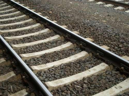 Railroad Track Rails Railway Track Railroad Ties